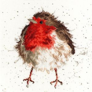 Bothy Threads XHD5 - Jolly Robin Counted Cross Stitch Kit